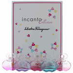 Incanto Collection by Salvatore Ferragamo, 5 Piece Variety Mini Gift Set for Women