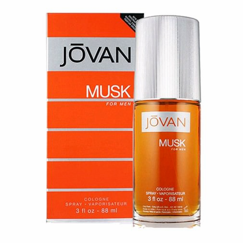 Jovan Musk by Coty, 3 oz Cologne Spray for men