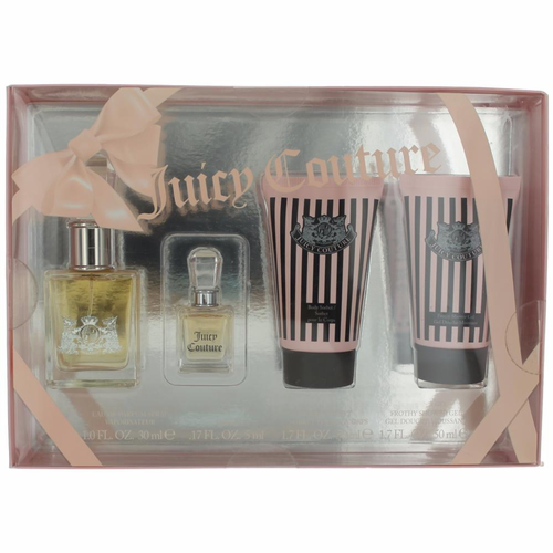 Juicy Couture by Juicy Couture, 4 Piece Gift Set for Women