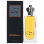L'Envol by Cartier, 3.3 oz Refillable Eau De Parfum Spray for Men