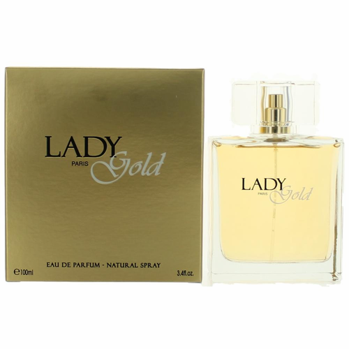 Lady Gold by Karen Low, 3.4 oz Eau De Parfum Spray for Women