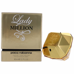 Lady Million Absolutely Gold by Paco Rabanne, 2.7 Parfum Spray for Women