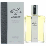 Le 3e Homme by Caron, 4.2 oz Eau De Toilette Spray for Men (The Third Man)