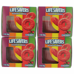 Life Savers Scented Candle 4 Pack of 3 oz Jars - Cherry