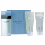 Light Blue by Dolce & Gabbana, 3 Piece Gift Set for Women