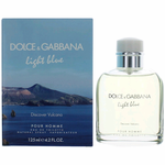 Light Blue Discover Vulcano by Dolce & Gabanna, 4.2 oz Eau De Toilette Spray for Men