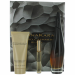 Liquid Cashmere Black by Donna Karan, 3 Piece Gift Set for Women