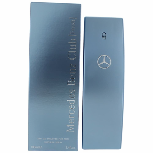Authentic mercedes benz club fresh cologne by mercedes for Mercedes benz club cologne