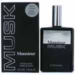 Monsieur Musk by Dana, 4 oz After Shave for Men