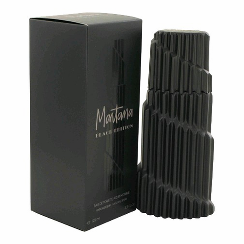Montana Black Edition by Montana, 4.2 oz Eau De Toilette Spray for Men