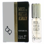 Musk by Alyssa Ashley, .25 oz Perfume Oil for Women