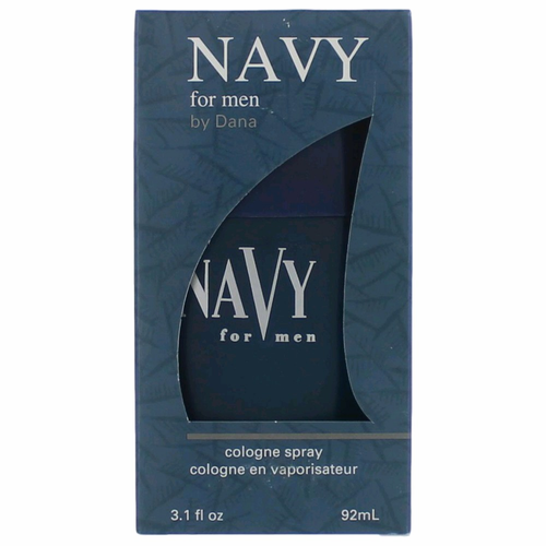 Navy by Dana, 3.1 oz Cologne Spray for Men