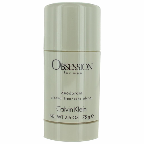 Obsession by Calvin Klein, 2.6 oz Deodorant Stick for Men