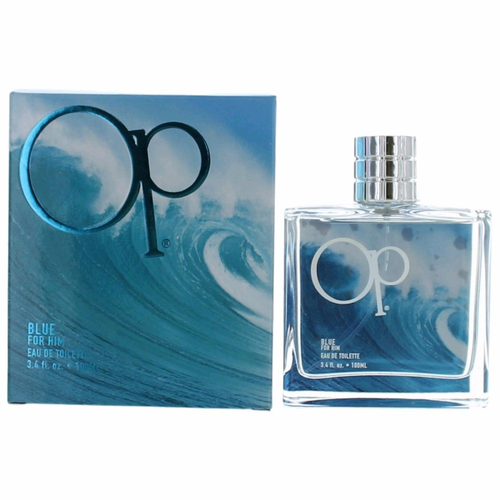OP Blue For Him by Ocean Pacific, 3.4 oz Eau De Toilette Spray for Men