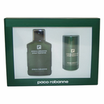 Paco Rabanne Pour Homme by Paco Rabanne, 2 Piece Gift Set for men