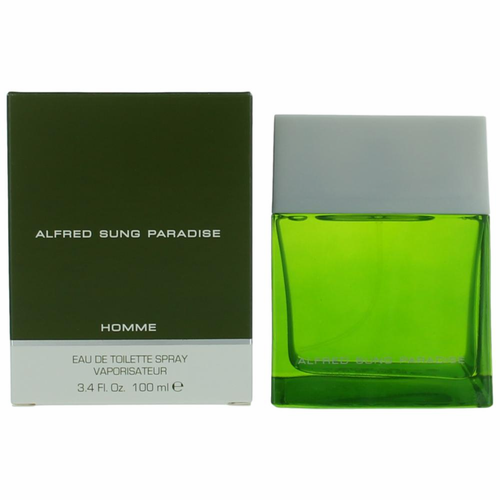 Paradise by Alfred Sung, 3.4 oz Eau De Toilette Spray for Men