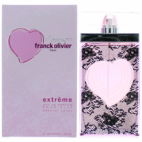 Passion Extreme by Franck Olivier, 2.5 oz Eau De Parfum Spray for Women