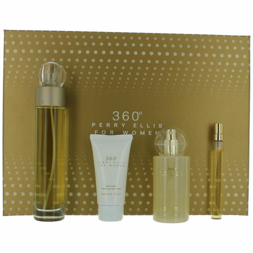 Authentic Perry Ellis 360' Perfume By Perry Ellis, 4 Piece Gift ...