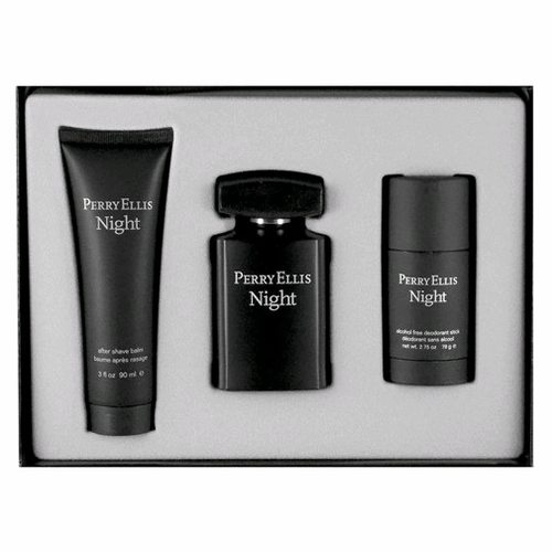 Perry Ellis Night by Perry Ellis, 3 Piece Gift Set for Men