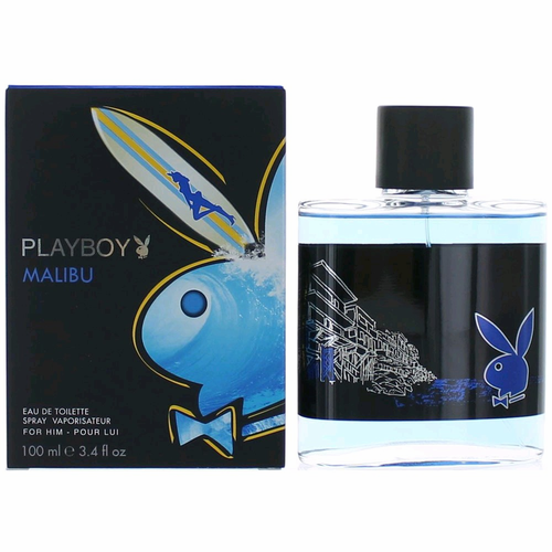 Playboy Malibu by Coty, 3.4 oz Eau De Toilette Spray for Men