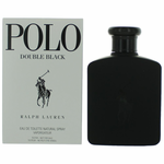 Polo Double Black by Ralph Lauren, 4.2 oz Eau De Toilette Spray for Men Tester
