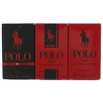 Polo Red by Ralph Lauren, 3 Piece Variety Gift Set for Men