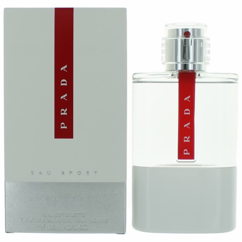 Prada Luna Rossa Eau Sport by Prada, 4.2 oz Eau De Toilette Spray for Men