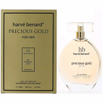 Precious Gold by Harve Bernard, 3.4 oz Eau De Parfum Spray for Women