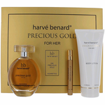 Precious Gold by Harve Bernard, 3 Piece Gift Set for Women