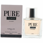Pure Flower by Karen Low, 3.4 oz Eau De Parfum Spray for Women