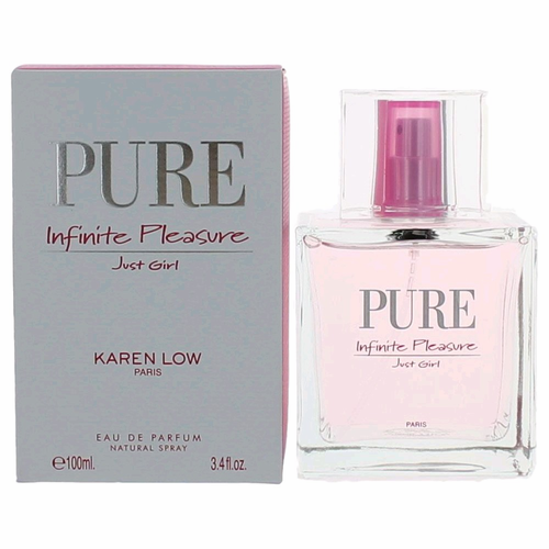 Pure Infinite Pleasure Just Girl by Karen Low, 3.4 oz Eau De Parfum Spray for Women