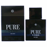 Pure Vibe by Karen Low, 3.4 oz Eau De Toilette Spray for Men