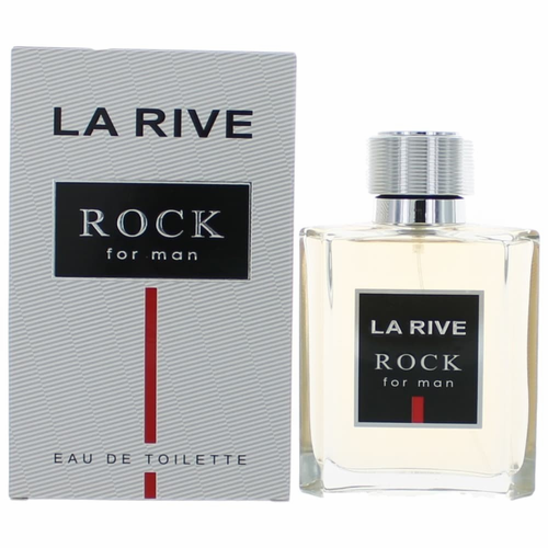 Rock by La Rive, 3.4 oz Eau De Toilette Spray For Men
