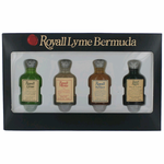 Royall Lyme Bermuda Classics Collection by Royall Fragrances, 4 Piece Mini Set for Men