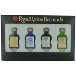Royall Lyme Bermuda Collection by Royall Fragrances, 4 Piece Mini Set for Men