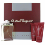 Salvatore Ferragamo by Salvatore Ferragamo, 3 Piece Gift Set for Men