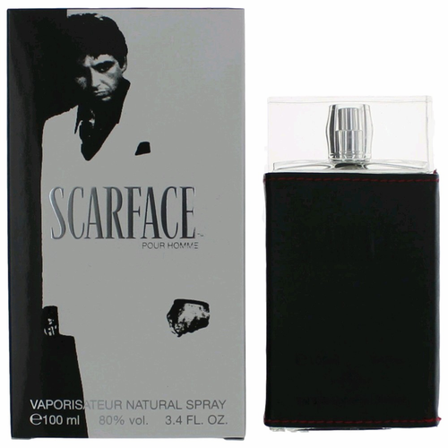 Scarface by Universal Studios, 3.4 oz Eau De Toilette Spray for Men