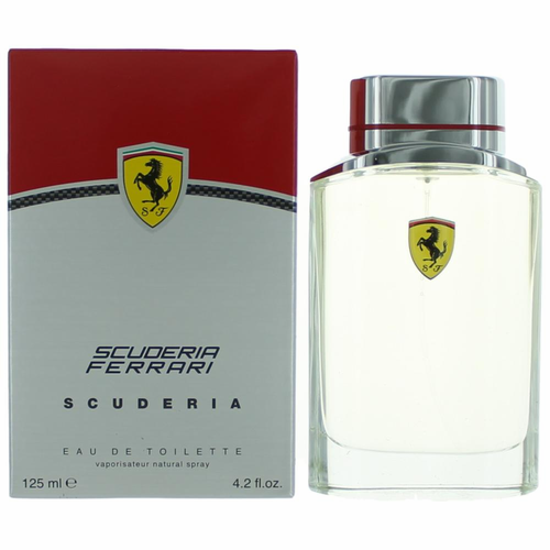 Scuderia by Scuderia Ferrari, 4.2 oz Eau De Toilette Spray for Men