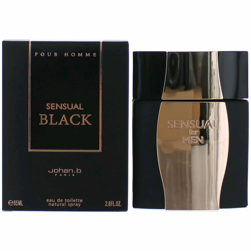 Sensual Black by Johan.b, 2.8 oz Eau De Toilette Spray for Men