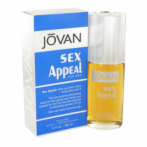 Sex Appeal Jovan by Coty, 3 oz Cologne Spray for Men