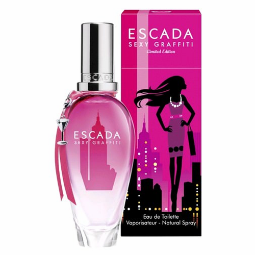Sexy Graffiti by Escada, 3.3 oz Eau De Toilette Spray for women Limited Edition