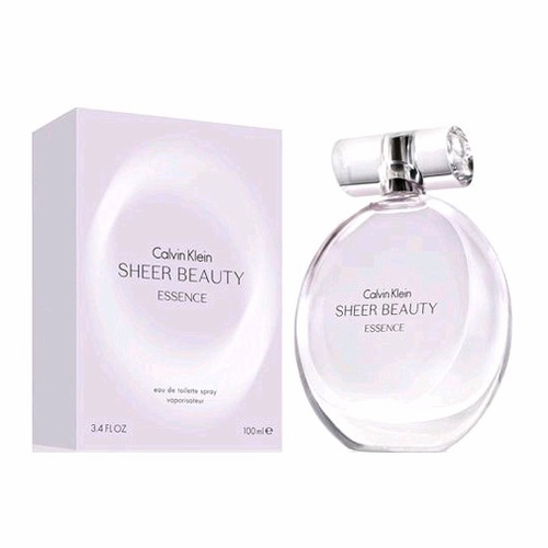 Sheer Beauty Essence by Calvin Klein, 3.4 oz Eau De Toilette Spray for Women