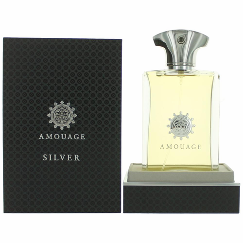 Silver by Amouage, 3.4 oz Eau De Parfum Spray for Men