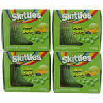 Skittles Scented Candle 4 Pack of 3 oz Jars - Melon Berry