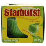Starburst Scented Candle 3 oz Jar - Green Apple