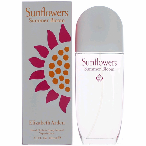 Sunflowers Summer Bloom by Elizabeth Arden, 3.4 oz Eau De Toilette Spray for Women