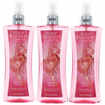 Sweet Crush by Body Fantasies, 3 Pack 8 oz Fragrance Body Spray for Women