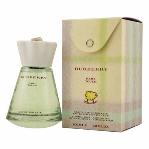 Touch Baby by Burberry, 3.3 oz Gentle Eau de Toilette Spray Alcohol Free for Kids