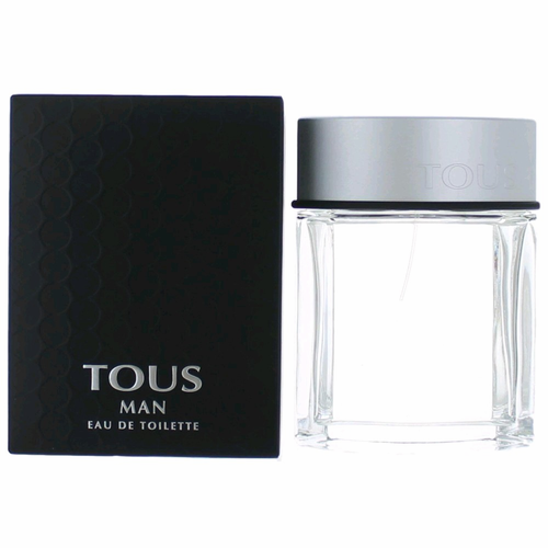 Tous Man by Tous, 3.4 oz Eau De Toilette Spray for Men