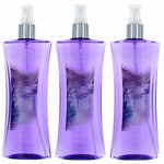 Twilight Mist by Body Fantasies, 3 Pack 8 oz Fragrance Body Spray for Women